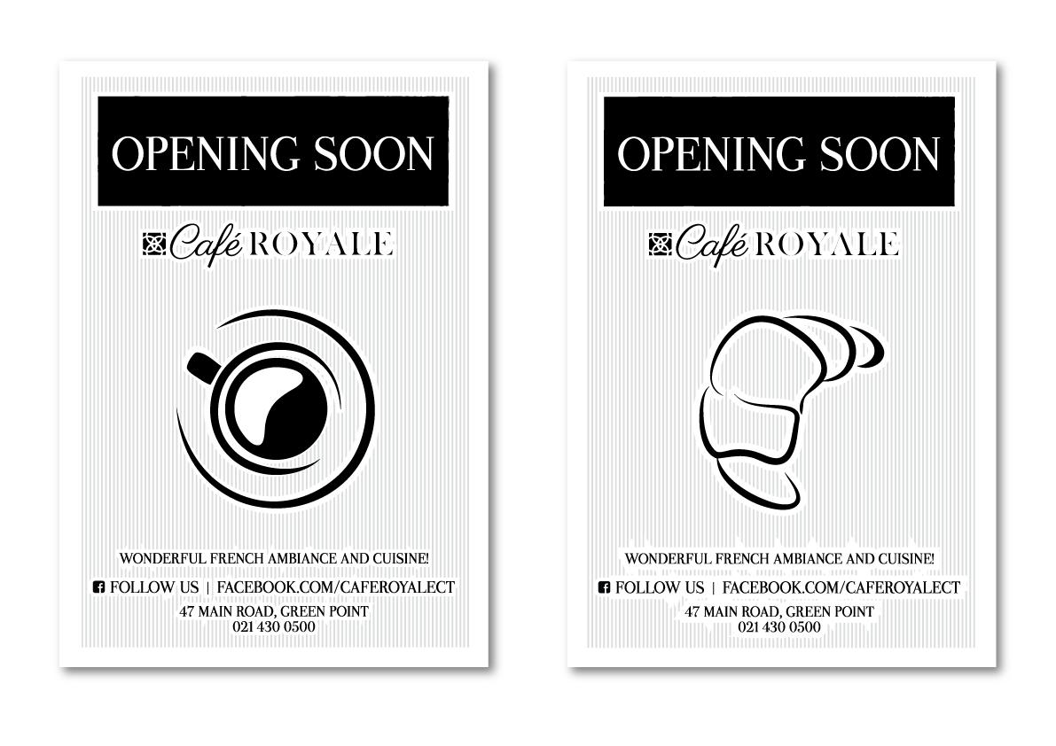 Café Royale Posters